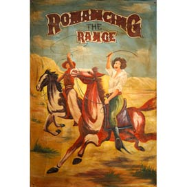 'PT-Romancing The Range Canvas'