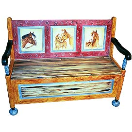 'PT-Lone Star Parlor Bench'