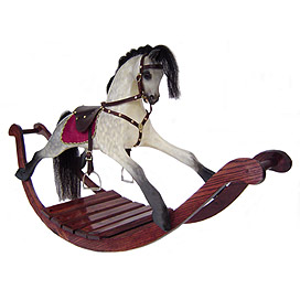 'PT-Heirloom Dapple Rocking Horse'