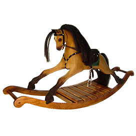 'PT-Heirloom Bay Rocking Horse'