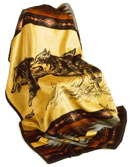 'SHP-Brothers Wolf Blanket'