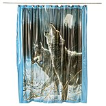 'SHP-Howling Wolf Shower Curtain'
