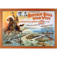 'Buffalo Bill - Wild West Poster'