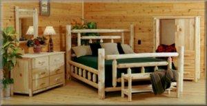 Log Bedroom Sets. Cedar Log 5pc Bedroom Suiteu0027. Full Size Of ...
