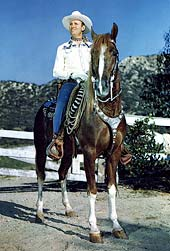 'Gene Autry on Champion'