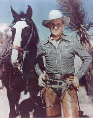 'Gene Autry w/Champion'
