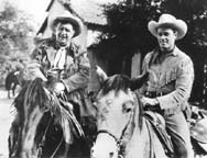 'Guy Madison & Andy Devine'