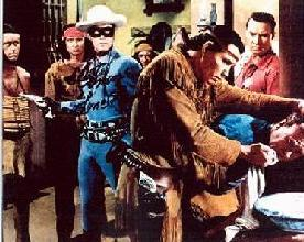 'Lone Ranger & Tonto in Fight'